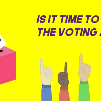 the voting age